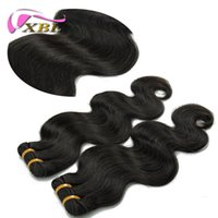 Wholesale natural human hair extensions best online - New Fashion Price Best Hair Pure Virgin Unprocessed Indian Cheap Body Wave Human Hair Extensions