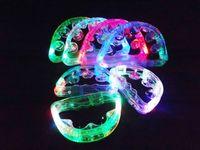 ingrosso luce lampeggiante del tamburello-Spedizione gratuita Dynamo tamburello sonagli flash light emitting bar forniture KTV intrattenimento bar Diba luminoso giocattoli di plastica da sposa