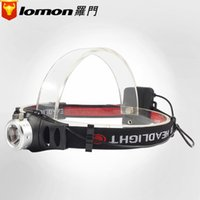 Wholesale Long Range Led Headlight - The new LED light headlamp manufacturers wholesale lomen outdoor high-power headlights light searchlight long-range hunting