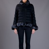 Wholesale Womens High Collar Coats - High Quality Winter Jacket Women Stand Collar Down Jackets Puffer Duck Down Bomber Coat Slim Womens Clothing