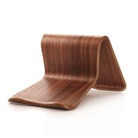 Wholesale tablet tab2 online - Wood Mobile Tablets Stand Holder for iPad Air For Galaxy Tab Note Tab2
