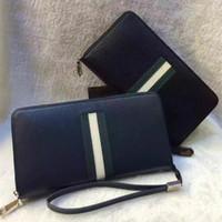 Wholesale american advance - advanced genuine leather brand designer zipper wallet for women drop shipping