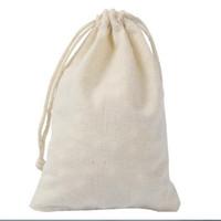 Wholesale cotton events - Wedding Hangover Kit Bags 10*15cm Cotton Wedding Favor Holder Bag Bachelorette Party Decorations Event Party Supplies