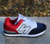 Wholesale Men Shoes Nb - 2017 admission men and women 574 NB balance casual sports shoes lovers shoes running shoes size 36-44