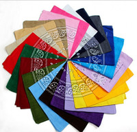 Wholesale Magic Polyester Scarves - 100% COTTON Paisley Design Novelty Cycling Magic Anti-UV Bandana Headband Scarf Hip Hop Multifunctional Bandana Wristband Headscarf 10000pcs