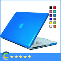 Wholesale Laptop Hard Shell Covers - Transparent Clear Hard Solid PC Shell Protective Case Cover for Apple Macbook Air 11'' Pro 13'' 15'' Retina 12inch