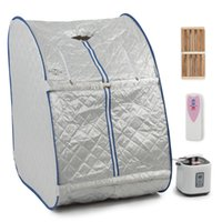 Wholesale Home Steam - Home Portable Steam Sauna Tent Slimming Full Body Spa Therapy Detox Loss Weight