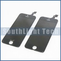 Wholesale Iphone Screen Replacement Colors - Wholesale Grade AAA No Dead Pixels For Iphone 5C LCD Digitizer Touch LCD Screen Full Assembly Display Replacement Parts Black Colors