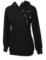 Wholesale women korean sweaters hoodies resale online - Korean Women Hooded Sweater Pullover Casual Coat Blouse Tops Hoodies S M L XL