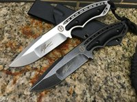 Wholesale Aus Fixed - TODD BEGG steel AUS-10 blade 60HRC CNC Tactical Hunting Knife Multi Tools Pocket Survival Knives Xmas gift knife for man 1pcs