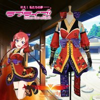 Wholesale Custom Made Free Postage - Wholesale-Free Postage Love Live! Nishikino Maki Cos Awakening Ninja Shinobi Cosplay Costume custom made