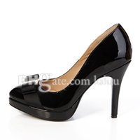 Wholesale Sexy High Summer Wedges - High quality 2016 high-heeled shoes fashion Sexy stiletto Party thin heels princess sexy brand fashion women pumps patent leather shoes