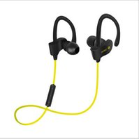 Wholesale Professional Workout - Wireless Earbuds Professional Sports 4.1 bluetooth headphones Freesolo Ear Hook Type Stereo Headset With Volume Control+Mic For Workout