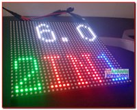 Hero p6 led display module, 35 * 35 192mm * 192mm, 32 * 32 pixel, full color, 1/16 scanner, led display panel, p6 semi-outdoor smd 2 em 1 painel