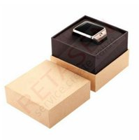 Wholesale Vehicle Mini Black Box - DZ09 Smart Watch SIM Card Android Bluetooth Smartwatch Sport wristwatch for Samsung HTC Android mini Smart phones with retail box