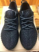Wholesale Sports Footwear Brands - Original Fashion Kanye West shoes 350 Brand Mens 350 Boost Footwear Sneakers Kanye West 350 Boost milan Sport Sneakers Free Shipping