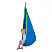 Wholesale Swing Child Chair - New Baby Inflatable Hammock Kids Hanging Chair Hammocks Indoor Outdoor Furniture children Swing Chair with Inflatable Cushion