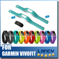 Wholesale Garmin Blue - New accessories Replacement wirst strap for garmin vivofit healthy fitness tracker and smart bracelets Free Shipping