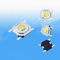 Wholesale Tactile Tact Push Button Switch - 100PCS Lot SMD 4*4*1.5MM 4X4X1.5MM Tactile Tact Push Button Micro Switch Momentary Free Shipping