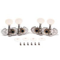 Wholesale Tuning Machines For Classical Guitar - Brand New 1 Pair (2R2L ) Guitar Tuning Pegs Machine Heads Tuner for Ukulele 4 Strings Classical Guitar