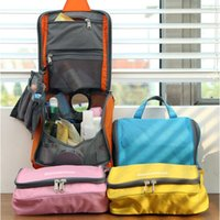 Wholesale Oxford Cloth Women Travel Bags Waterproof Folding Zipper Solid Travel Check CM Four colors Available