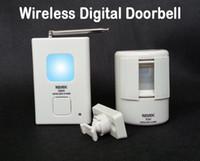 Wholesale Driveway Alarms - Wireless Digital Doorbell Door Chime,Driveway Patrol Security Alarm and Motion Sensor,Welcome Door Bell 16 Chime Sounds,audio doorbell