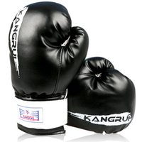 Wholesale KB313 PU leather oz adult male boxing fighting boxing gloves luvas de boxe muay thai