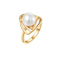 Wholesale channel necklaces resale online - Fashion Jewelry Ring sets18K White Gold Women pearl Rings Luxury Wedding Pendant Necklaces Stud Jewelry set Accessories Bijouterie