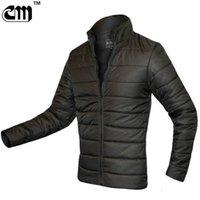 Wholesale Wholesale Duck Down Jacket Coat - Wholesale- 2017 Ultra Light Men Winter Jacket Men's Cotton Jacket Coats Casual Thin Outwear Men Jaqueta Masculina Campera Hombre
