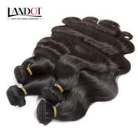 en iyi insan saçı örgüleri toptan satış-En iyi 10A Perulu Hint Malezya Brezilyalı Vücut Dalga Saç 4 Paketler Lot Işlenmemiş Brezilyalı İnsan Saç Örgüleri 2 Yıl Ağartma UP Can