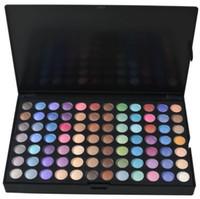 precio kit de maquillaje de ojos al por mayor-Shimmer Matte Eye Shadow Makeup Eyes Cosmetic Kit Precio barato US DHL Free 252 colores Paleta de sombras de ojos