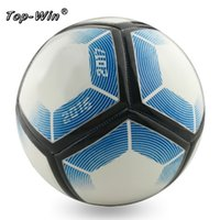Wholesale Match Football Soccerball Soccer Euro Champions League Antiskid Competition Training NO Soft Skin Particles pvc