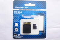 Wholesale Micro Sd 32 Adapter - 256 128 64 32 16GB Micro Memory SD TF Card MicroSDXC SDHC Card for Mobile Phones Tablet PC Digital Cameras with SD Adapter