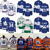 Wholesale Leafs Toronto - Men Toronto Maple Leafs 34 Auston Matthews 16 Mitch Marner Edmonton Oilers 97 Connor McDavid Jersey 100th 2017 Centennial Classic stitched
