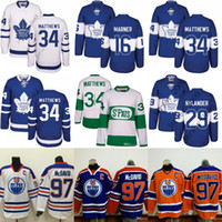 Wholesale Men Toronto Maple Leafs Auston Matthews Mitch Marner Edmonton Oilers Connor McDavid Jersey th Centennial Classic stitched