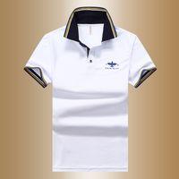 Wholesale England Tshirt - 5pcs lot Summer men 's POLO shirt lapel England short - sleeved tshirt male undercover shirt shirt
