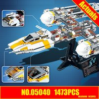 Wholesale Y Wing - LEPIN 05040 The Y Set Wing Attack Star Building Blocks Toys