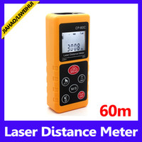 Wholesale Laser Display Color - New Version Color display Rechargeable 60m Laser distance meter Rangefinder MOQ=1 free shipping