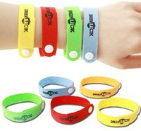 2016 haute qualité Anti-Moustique Bug Répulsif Wrist Band Bracelet Filets d'insectes Bug Lock Camping