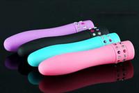 vibradores femininos venda por atacado-Bala À Prova D 'Água Bolso Vibrador Dildo G-Spot Clímax Massageador Clitóris Femal Masturbar Vibrador Aldult Brinquedos Sexuais Para A Mulher