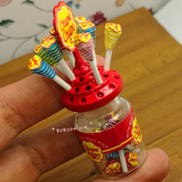 Wholesale- Dollhouse Miniature 1:12 Toy A Lollipop Bottle Altezza 6.5cm DM77