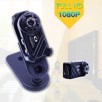 Wholesale Camera Infrared Photo - New Full HD 1080P Mini Spy Camera Recorder 4 lights Infrared night vision Photo Redio Motion Detection