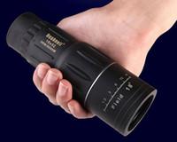 alcance de zoom al por mayor-60PCSEnvío gratuito 2019 Telescopio 16x bifocal 16X52 Telescopio monocular Zoom 66M / 8000MHD visión nocturna al aire libre telescopio telescopio de alcance