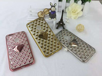 Wholesale Crown Mobile Phone Case - 2016 new Style Electroplating Crown loving Hear TPU Mobile Phone Soft Shell Anti Slip