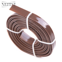 Wholesale Extensions Flat Tip - Neitsi 1Roll Keratin Bonding Italian Flat Tips Roll Glue Rebonds for KeratinPrebonded Hair Extension Gule Nail Tips for I Bonded