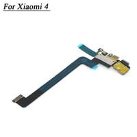 mikrofon-dock großhandel-Wholesale-Getestet Ladegerät Kabel für XiaoMi MI 4 M4 Mi4 Dock-Anschluss Ladegerät Ladeanschluss Micro USB Dock Mic Mikrofon Flexkabel