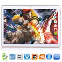 Wholesale Tablet China Ram - 2017 New Year gift 10 inch 4G LTE Tablet Google Play Store Android 6.0 OS 4GB RAM 32GB ROM 1280*800 HD IPS Screen dual SIM Cards
