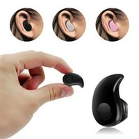 Wholesale Hidden Bluetooth Earphones - For Iphone 7 S530 Mini Wireless Small Bluetooth Earphone Stereo Light Stealth Headphone Headset Earbud With Mic Ultra-small Hidden With box