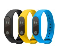 Wholesale Hot Kids Sms - New hot Heart rate monitoring smart band M2 Waterproof IP67 sms call reminder Passometer For IOS Android Smartphones PK XiaoMi Wristbands