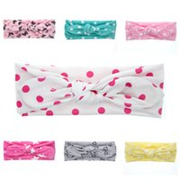 Wholesale 2016 New Christmas Headbands For Girls Dot Butterfly Heart Knoted Hair Band Kids Girls Hair Accessories Handmade Bows Headbands